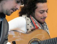 Israel Fernández y Jonathan Fernández · Puerta de Hierro
