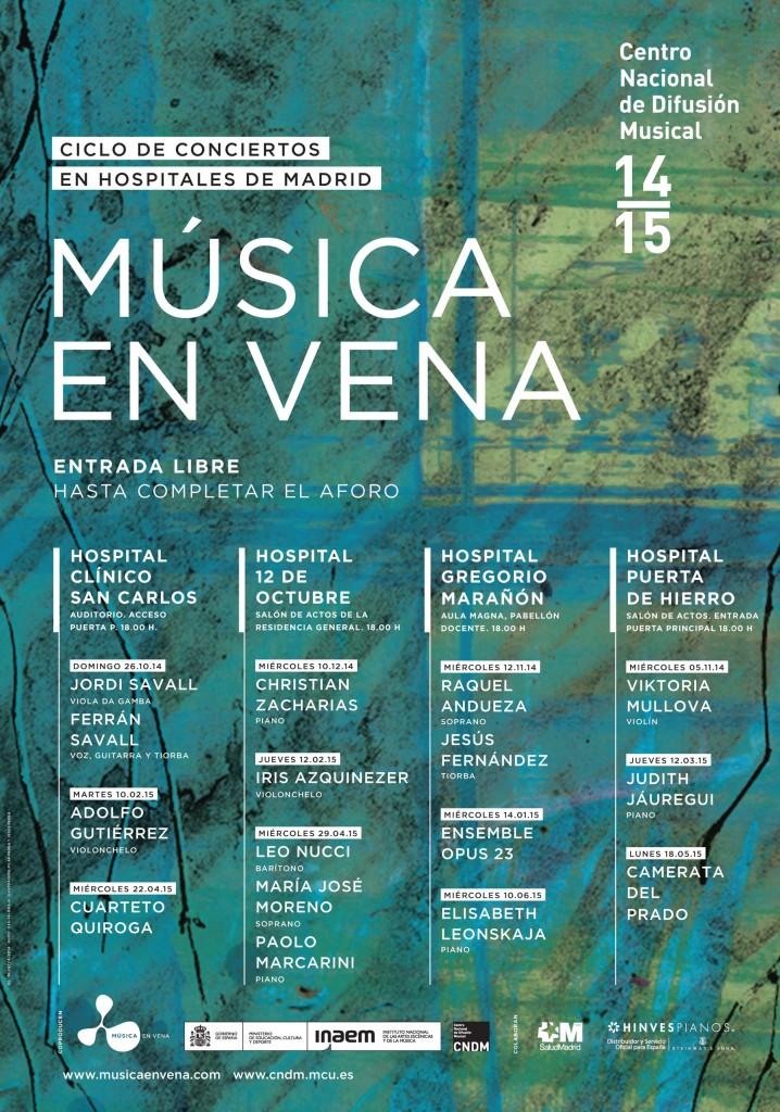 CARTEL MUSICA EN VENA_CNDMb