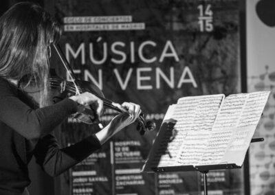CICLO MEV Y CNDM: VIKTORIA MULLOVA EN EL PUERTA DE HIERRO