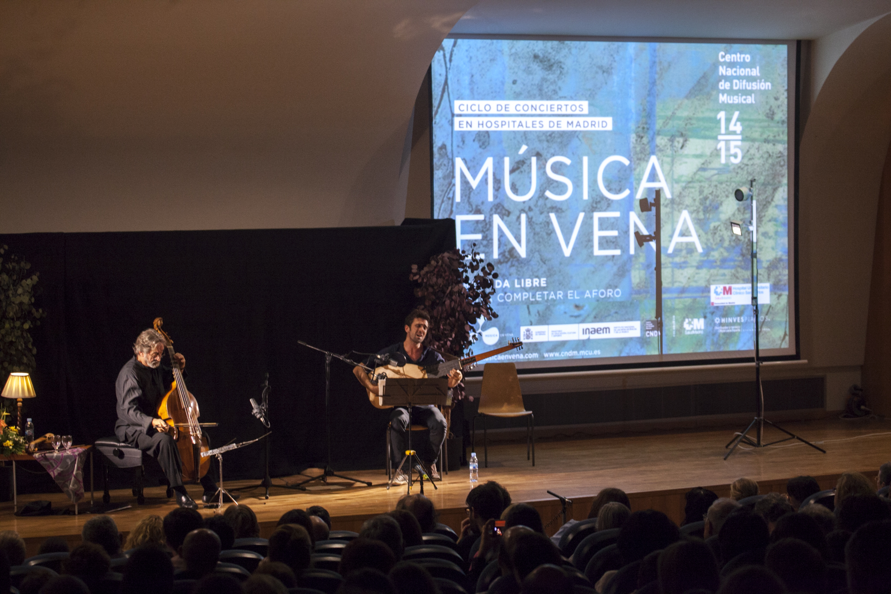 CICLO MEV Y CNDM: JORDI Y FERRAN SAVALL EN EL SAN CARLOS