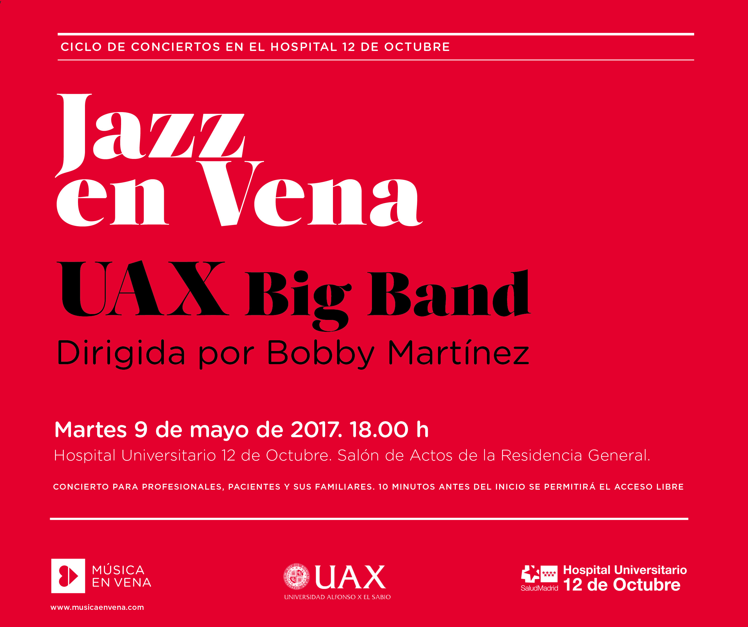 Jazz en Vena horizontal