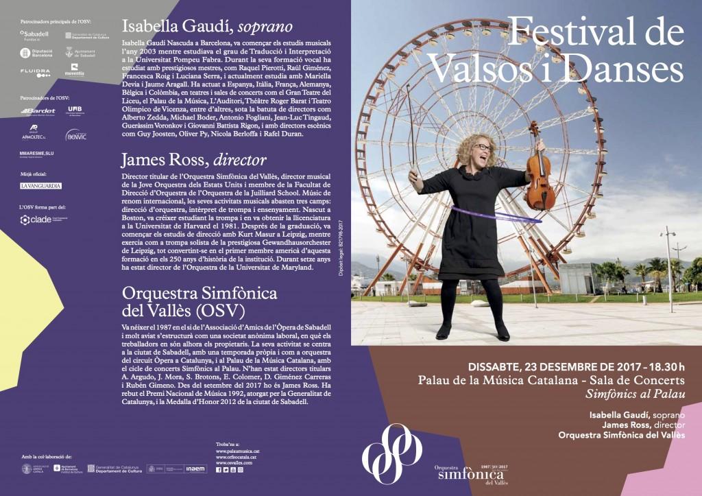 Programa Simfo 5 Festival de valsos i danses