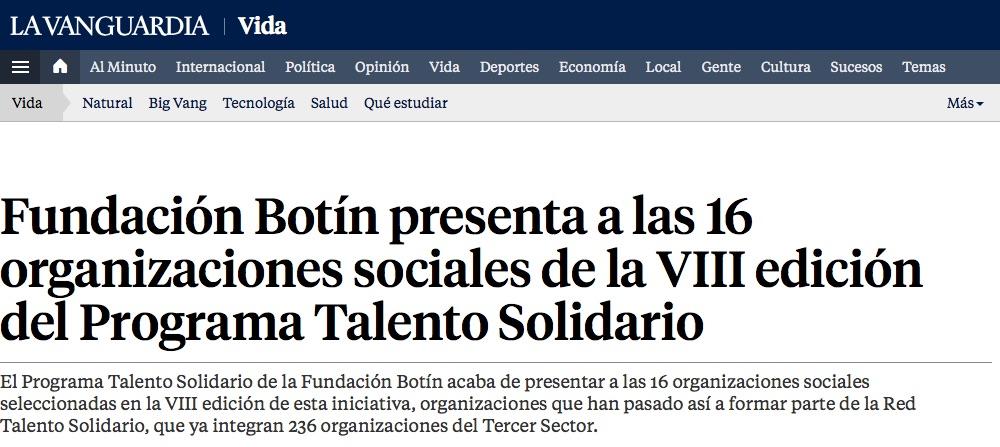 La_Vanguardia_TalentoSolidario