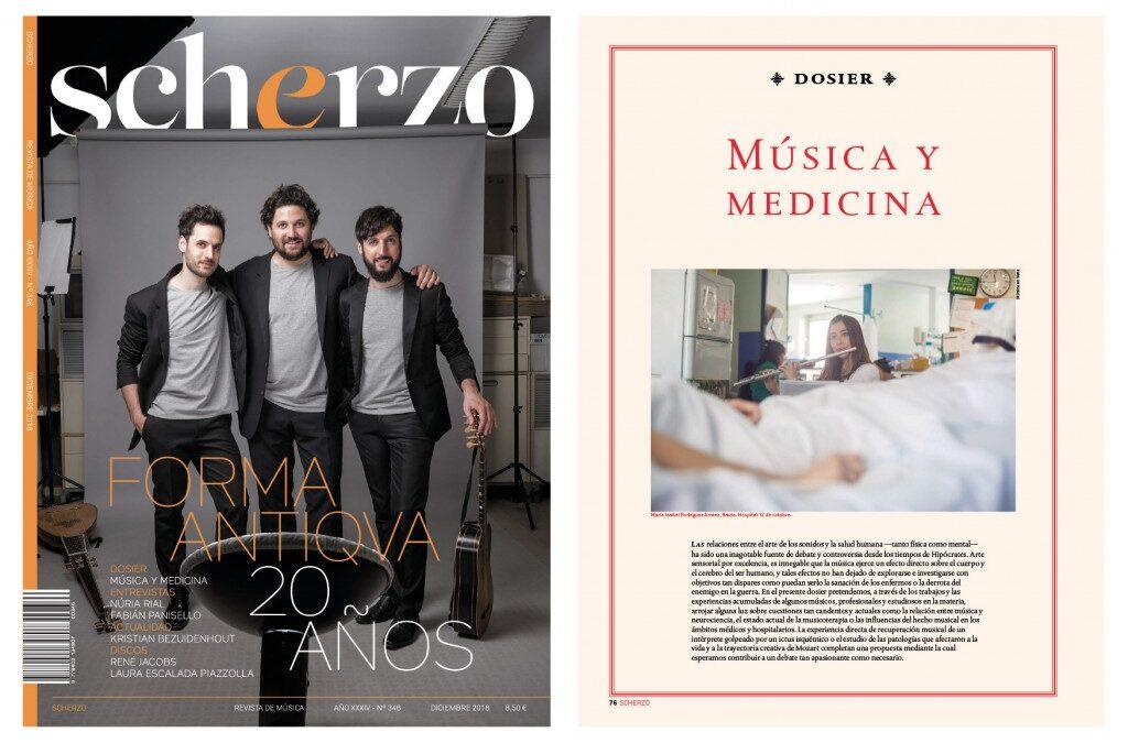 MeV en la revista Scherzo